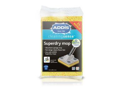 Addis 508859 Superdry Twin Refill Met/Granite