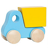 Hape Little Dump Truck (Blue)