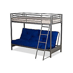 Happy Beds Filton Metal Triple Sleeper Bunk Bed Folding Guest Bed