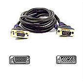 Belkin VGA Monitor Extension Cable 3 m 3m Black