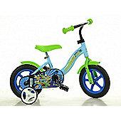 Ninja Turtles Half Shell Heroes 10inch Balance Bike Green - DINO Bikes