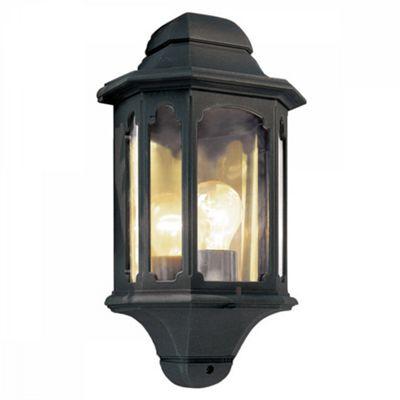 Black Half Lantern - 1 x 100W E27