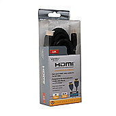 B-Tech BTV817 5M Ventry High Speed HDMI Cable with Ethernet - Black