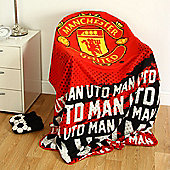 Manchester United FC Impact Fleece Blanket