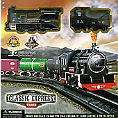 Classic Express Train Railway Set
