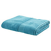 TESCO ZERO TWIST BATH SHEET  AQUA