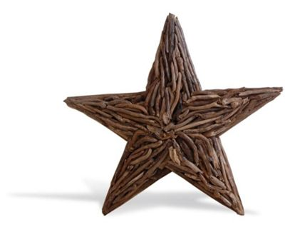 Wall Deco Driftwood Star Large