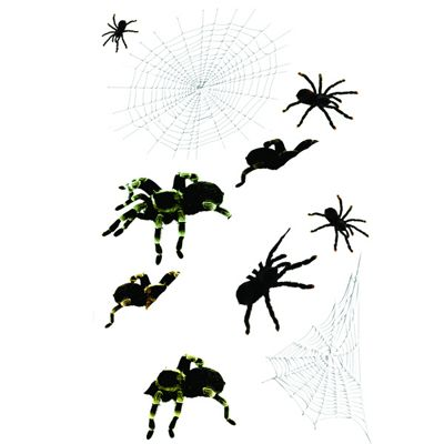 Halloween Spiders Wall Stickers