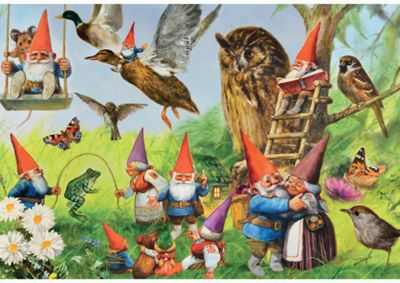 At the Forest with the Gnomes - 1000pc Puzzle