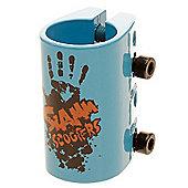 Slamm Quad Collar Clamp - Blue
