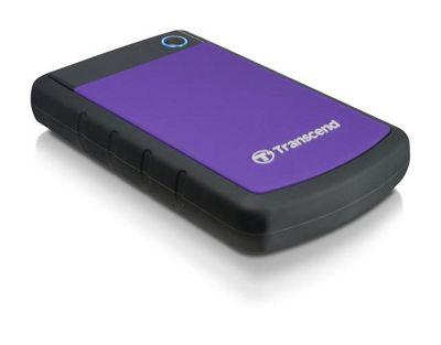 Transcend StoreJet 25H2 (1TB) Hard Drive (5400rpm) USB 2.0 (External) - Purple