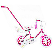 "Raleigh Sunbeam Fairycake 12"" Wheel Kids Bike Pink"