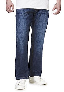 Jacamo Union Blues Straight Leg Jeans - Blue