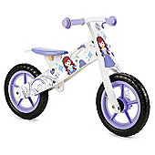 Nicko Purple Princess Wooden Balance Bike