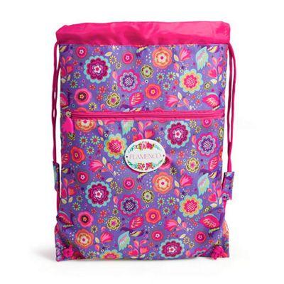 Children's PE Bag- Flamenco, Children's Swimming Bags, Children's PE Bags, Children's Sports Bags