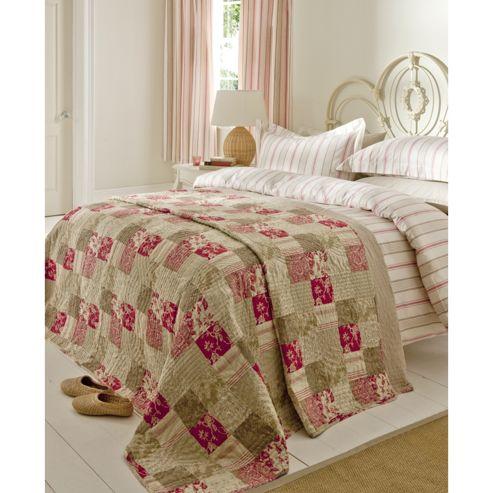 Catherine Lansfield Home Signature Province Bedspread 220 x 230cm Multi