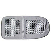Acu-Massage Car Seat Cushion - Grey