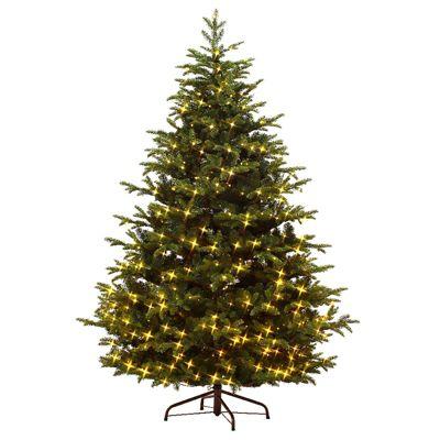 Kaemingk 6ft Prelit Mountain Spruce Artificial Christmas Tree - 500 LED lights
