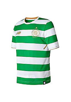 New Balance Celtic FC 2016/17 Kids Home Shirt White/Green - Black