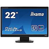 "iiyama ProLite P2252HS-B1 54.6 cm (21.5"") LED Monitor - 16:9 - 5 ms"