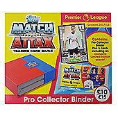 Topps Premier League Match Attax 2017/18 - Pro Collector Binder