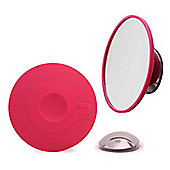 Bosign Cosmetic Mirror with x10 Magnification and Magnet in Pink 263138