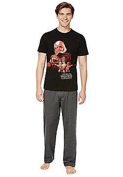 Star Wars Darth Vader Loungewear Set - Grey & Black