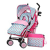 Obaby Zeal Stroller Bundle - Cottage Rose