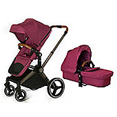 Mee-Go Venice Child Kangaroo Isofix Travel System - Radiant Orchid