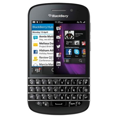 BlackBerry® Q10 Black