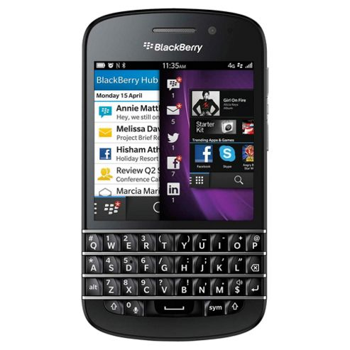BlackBerry® Q10 Black