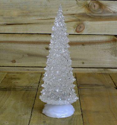 Buy 32cm Light Up Water Spinner Christmas Tree Multi