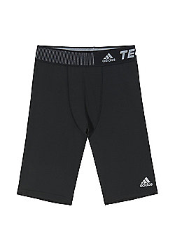adidas Techfit Mens Compression Baselayer Short Black - Black
