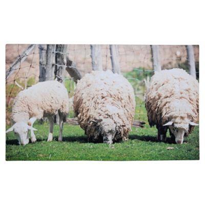 Fallen Fruits Printed Doormat (Sheep)