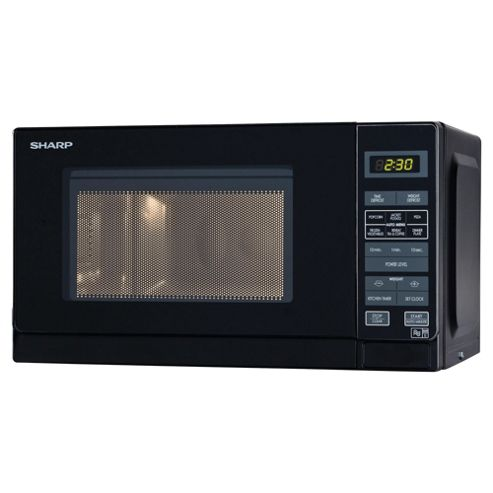 Sharp R272KM Solo Compact Microwave, 20L  -  Black