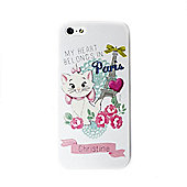 Disney Aristocats Personalised White iPhone 5/5s Cover