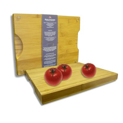Grunwerg Medium Chunky Bamboo Chopping Board CB-3025