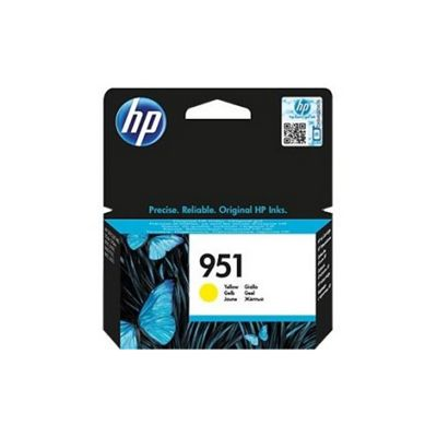 HP 951 Yellow Original Ink Cartridge CN052AE
