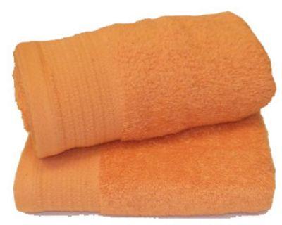 Luxury Egyptian Cotton Hand Towel, Tangerine