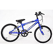 "Professional Chaos 18"" Wheel Mountain Bike Boys Blue"