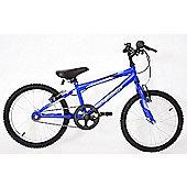 "Professional Chaos 18"" Wheel Mountain Bike Boys Blue"