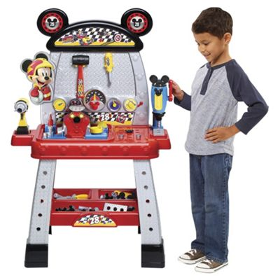 Disney Mickey Roadster Racers Pit Crew Workbench