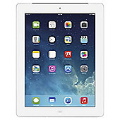 "Refurbished Apple iPad 4, 9.7"", 32GB, WiFi & 4G- White"