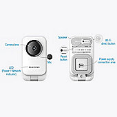 Samsung Smart Home Full HD 1080p Indoor Baby and Pet Monitor with Two-Way Audio