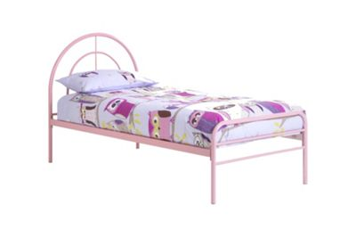 Frank Bosworth Sally Single Bed Frame - Pink