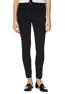 F&F Bengaline Skinny Trousers - Black