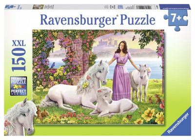 Ravensburger Puzzle - Beautiful Princess (150pcs) (10008) - Games/Puzzles