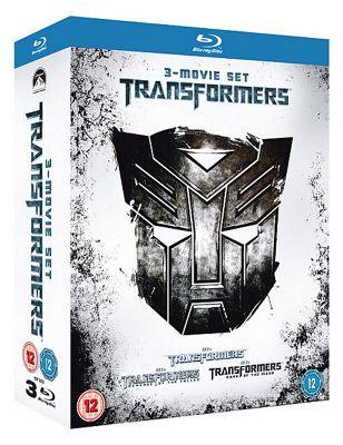 Transformers / Transformers - Revenge Of The Fallen / Transformers - Dark Of The Moon  (Blu-Ray Boxset)