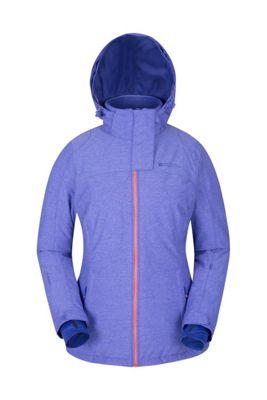Mountain Warehouse Glade Womens Textured Ski Jacket ( Size: 10 )