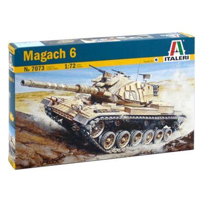 ITALERI Magach 6 7073 1:72 Tank Model Kit